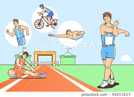 Vector - Various new goals or wishes illustration, related to resolutions for New Year 011 48853625