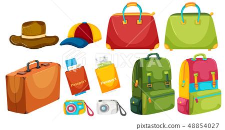 Set of travel element 48854027