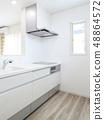 新建住房LDK的系統廚房 48864572