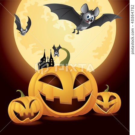 Halloween Day and Pumpkin 48864782