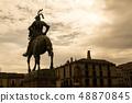 Equestrian statue of Pizarro in Trujillo (Spain) 48870845