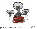 Rescue drone (with floats and transparent material) 48876275