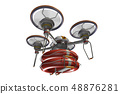 Rescue drone (with floats and transparent material) 48876281