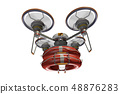 Rescue drone (with floats and transparent material) 48876283
