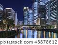 大阪/中之島的夜景 48878612