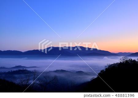 亀岡盆地의 운해 48881396