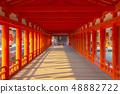廣島宮島的風景 48882722