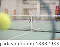 테니스 스쿨 이미지 복식 경기 풍경 48882933