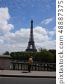 Eiffel Tower and the Elderly 48887375