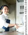 厨房餐厅女性 48891384