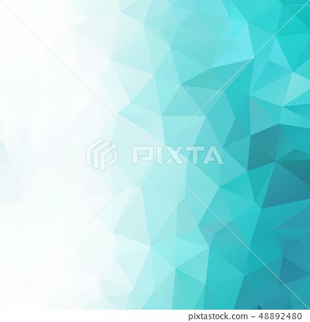 다각형 - 배경 소재 - 블루 48892480