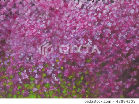 pink oil painted background image 48894305