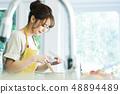 厨房女性主妇家务生活方式烹调 48894489