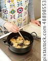 튀김 요리 48898553