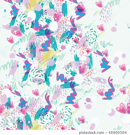 Hand-painted Abstract watercolor background 48900564