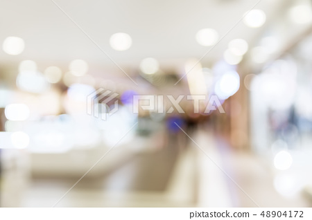 Abstract blur shopping mall background. 48904172