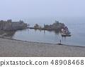 쿠지 - 소 소매 어항의 풍경 48908468