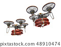 Rescue drone (with floats, formation flight, transparent material) 48910474