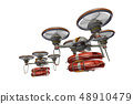Rescue drone (with floats, formation flight, transparent material) 48910479