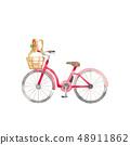 紅色自行車,購物 48911862