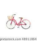 紅色自行車 48911864