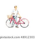 騎自行車出去,1名男性 48912303