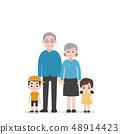 Set of People Character Family concept 48914423