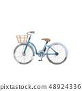 藍色自行車 48924336