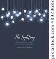 Vector light bulbs 48929683