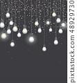 Vector light bulbs 48929730