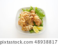 닭 튀김 48938817