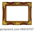 Old gold frame 48939707