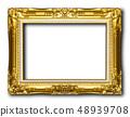 Old gold frame 48939708