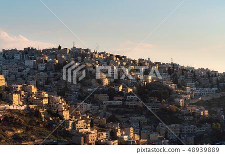 Amman city in Jordan, Middle-East. Amman cityscape 48939889
