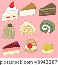 9種蛋糕品種 48943387