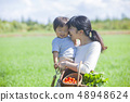 家庭父母和孩子 48948624
