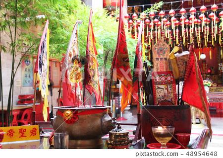 Malaysian Penang Hainan Temple Tianhougu The Hailam Association & Temple 48954648