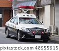 주차 된 경찰차 48955915