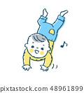 高跟寶寶1藍色 48961899