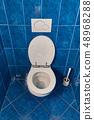 Toilet seat open 48968288