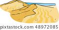 Tottori sand dunes 48972085
