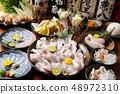 Japanese-Fugu hot pot dishes 48972310