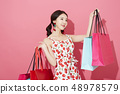 女性購物 48978579