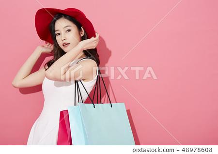 女性購物 48978608
