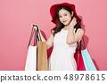 女性購物 48978615