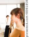 ศิลปะ Atelier คนกำลังวาดรูป 48981858