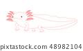 Wooper 's whole body Axolotl Albino 48982104