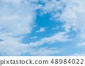藍天天空背景背景材料 48984022