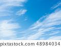 藍天天空背景背景材料 48984034