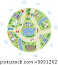 도시 지구 주거 생활 48991202